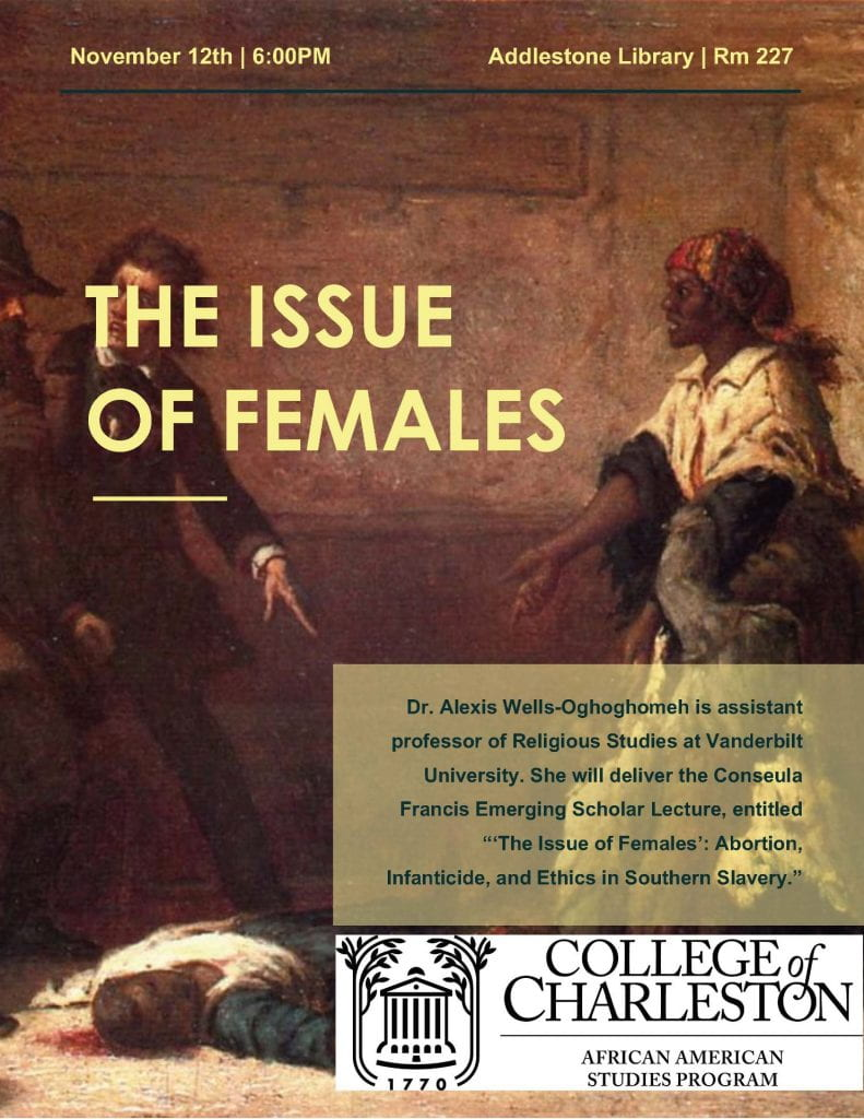 Nov 12 Lecture flyer