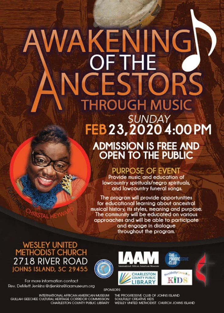 Flyer for Feb 23 event