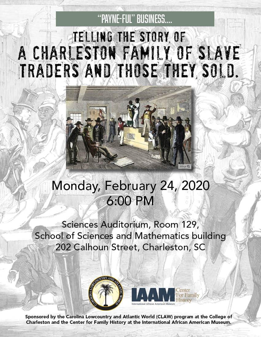 Flyer for Feb 24 event