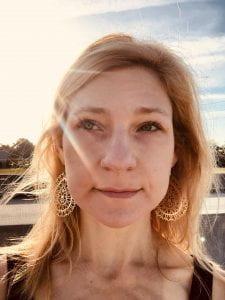 A headshot of Mary Jo Fairchild