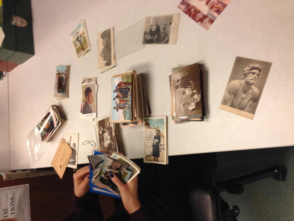 Rosh Hashanah postcards.