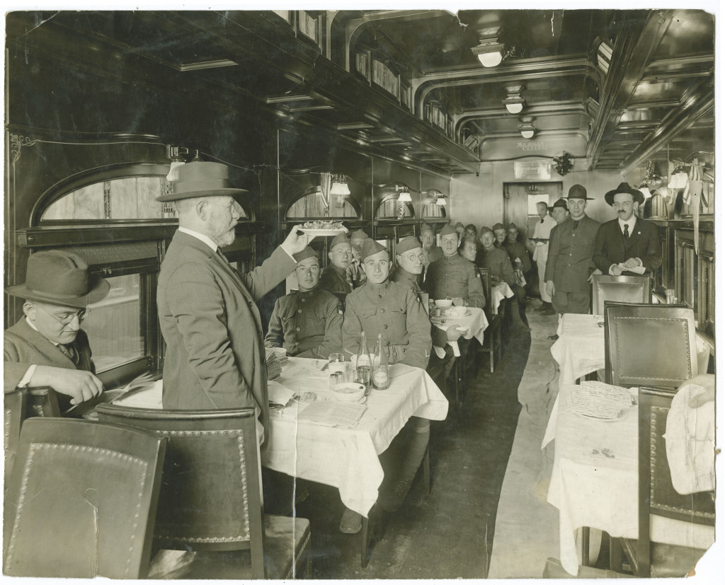 World War I train Seder