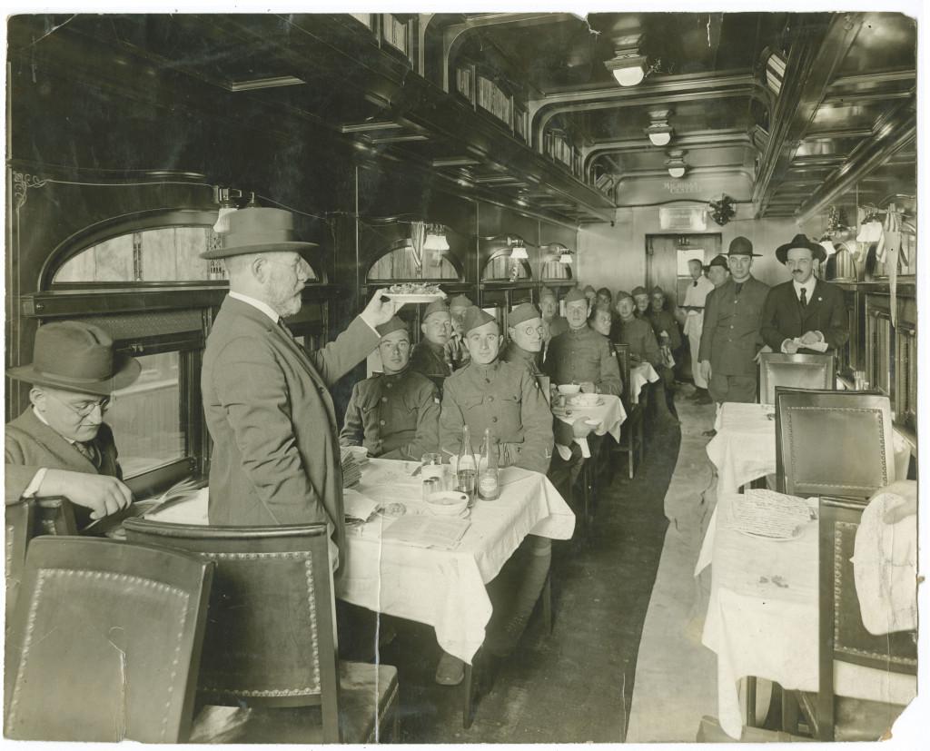 World War I train Seder