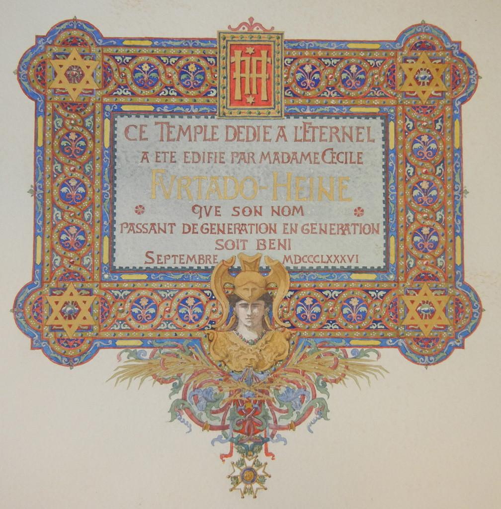 Versailles Synagogue dedication