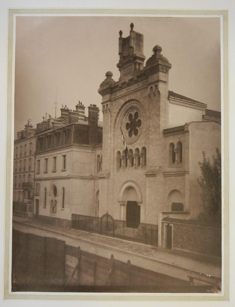 Versailles Synagogue exterior