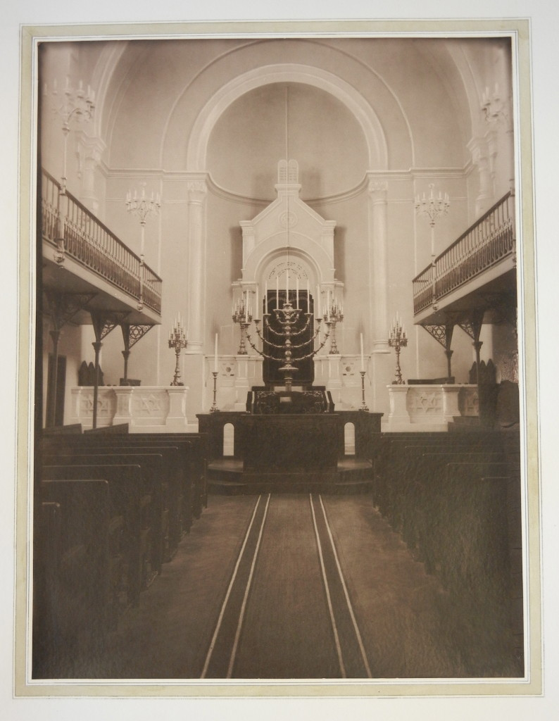 Versailles Synagogue interior 1