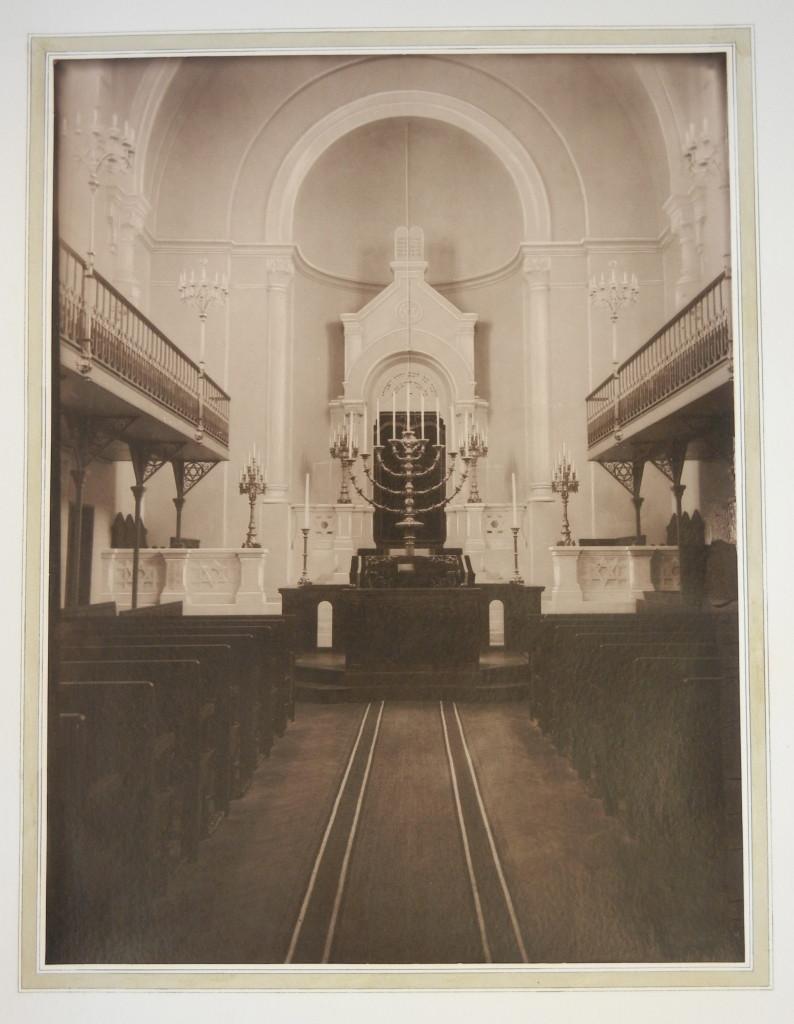 Versailles Synagogue interior 1