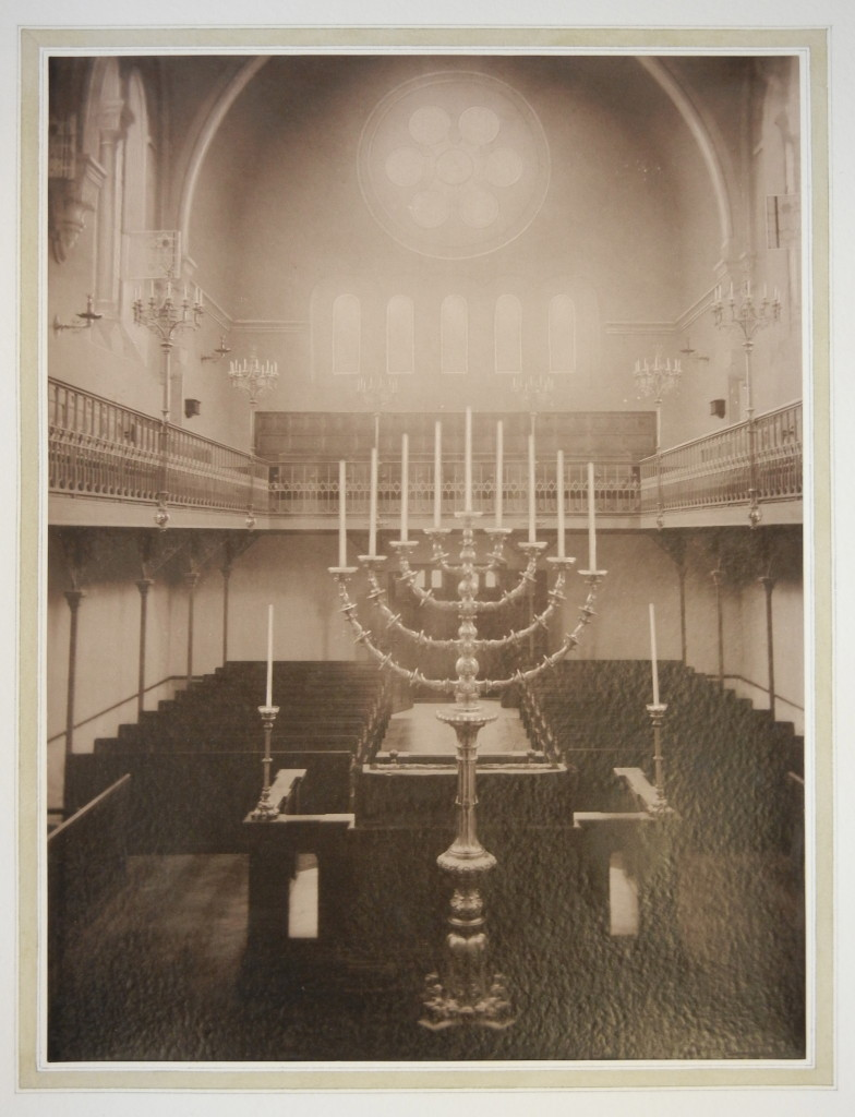 Versailles Synagogue interior 2