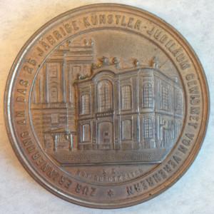 Adolf von Sonnenthal medal back