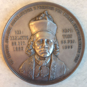 Adolph Jellinek medal front