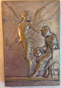 Henri Bergson medal back