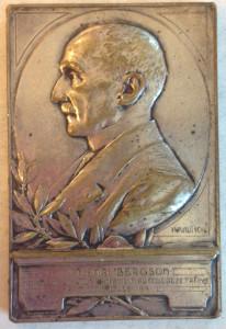 Henri Bergson medal front