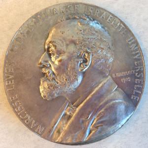 Narcisse Leven medal front
