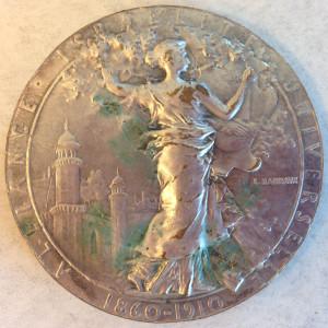 Narcisse Leven medal reverse