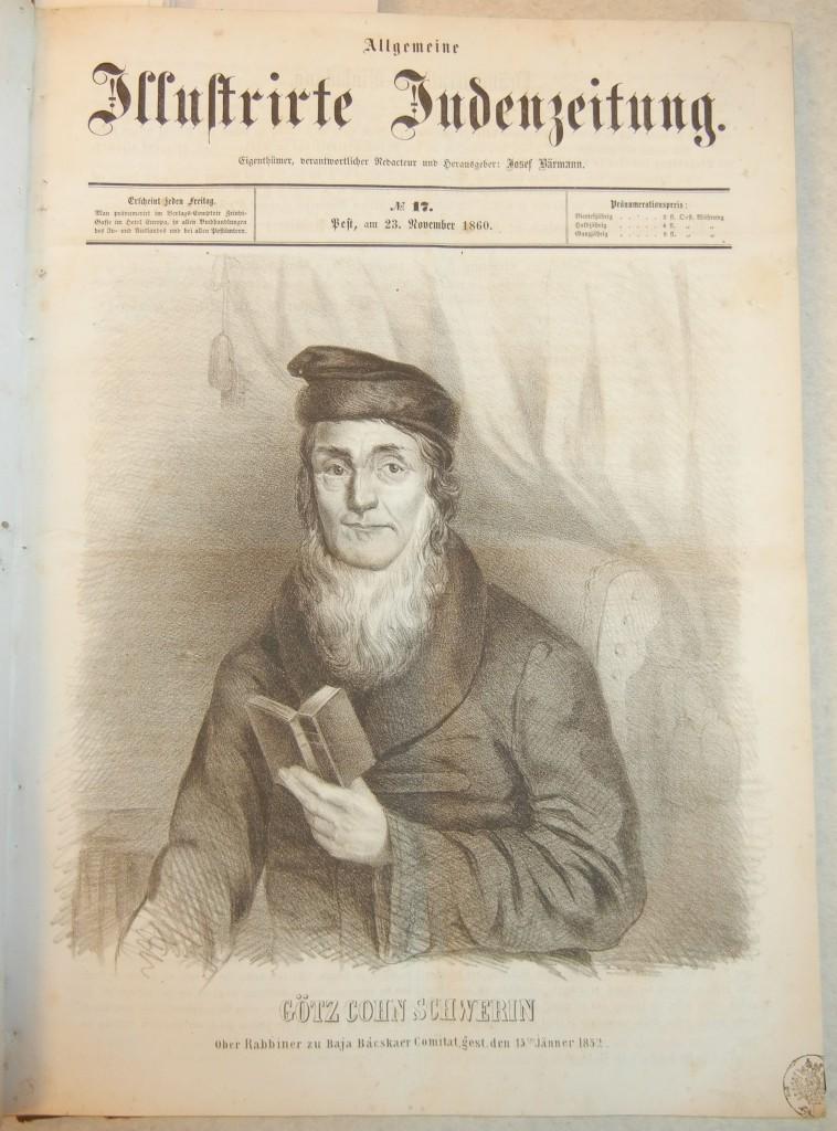 Rabbi Götz Schwerin (1760-1852)