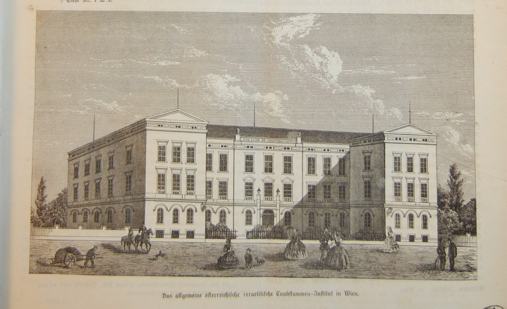Das Allgemeine Österreichische Israelitische Taubstummen-Institut in Wien