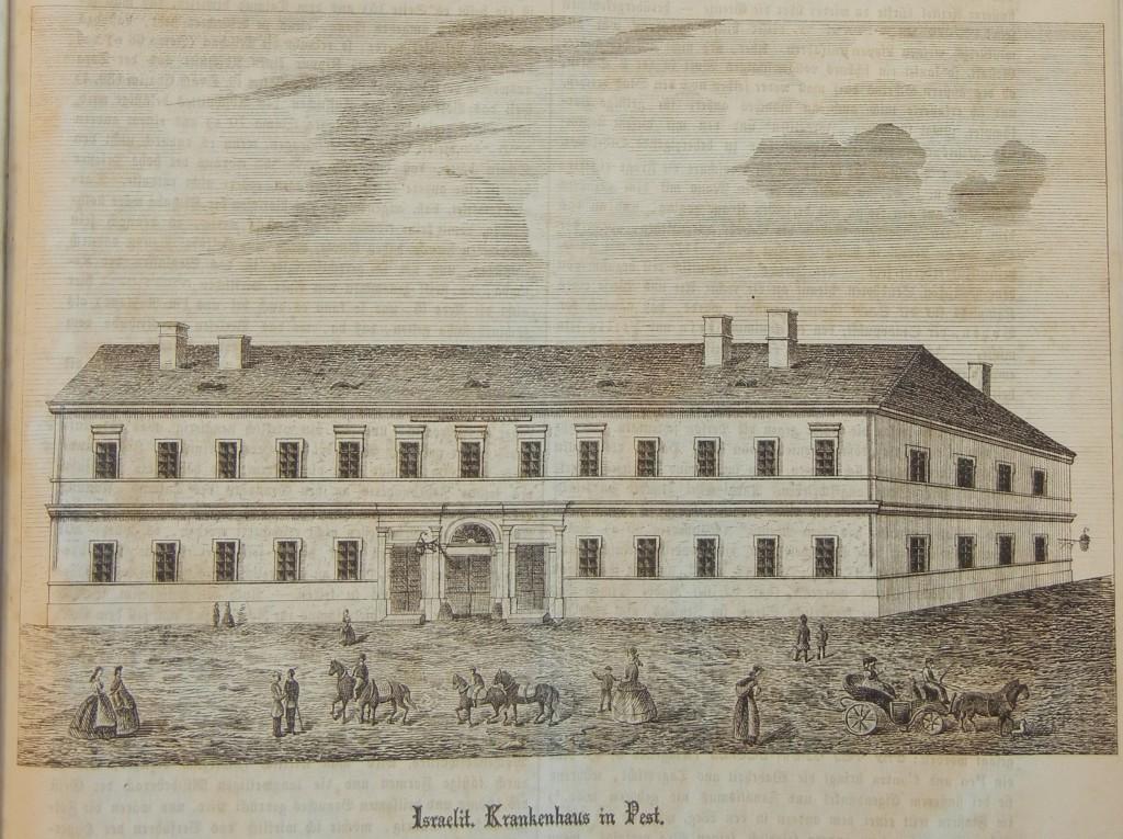 Jewish hospital, Pest