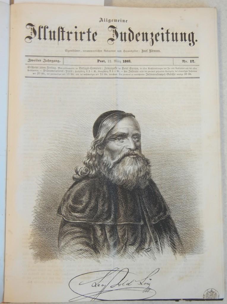 Rabbi Leopold Löw (1811-1875)
