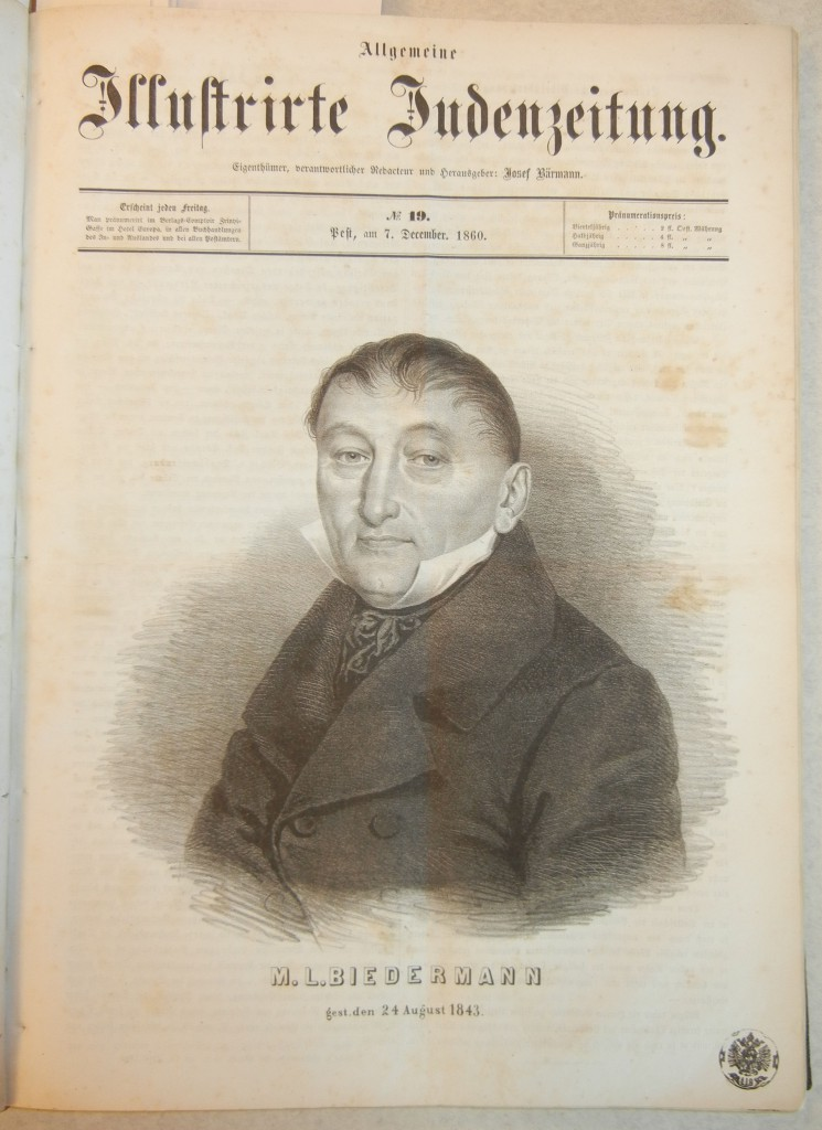 Michael Lazar Biedermann (1769-1843),  Austrian jeweler and merchant