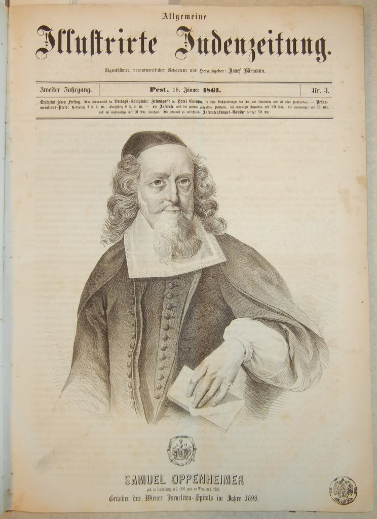 Samuel Oppenheimer (1630-1703), banker, imperial court factor, and diplomat