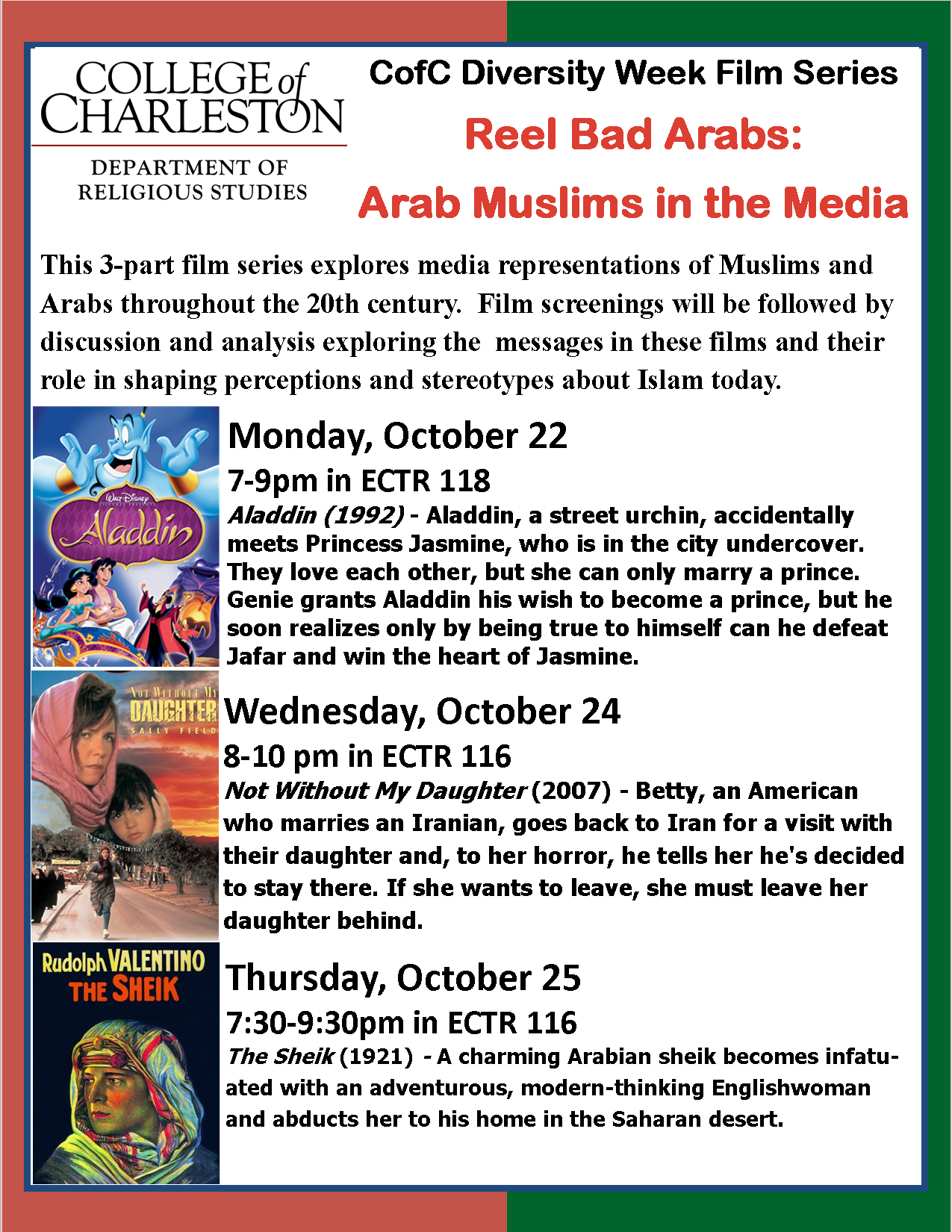 Reel Bad Arabs: Arab Muslims in the Media