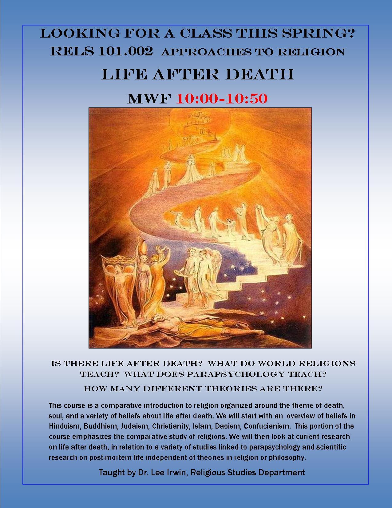 Irwin-LifeAfterDeathFlyerS16