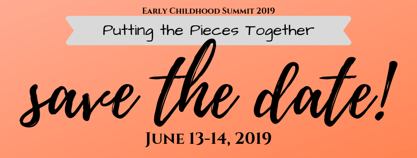 EC Summit 2019, Save the Date, June 13-14, 2019: Putting the Pieces Together