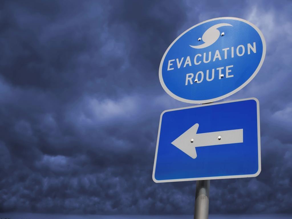 Evacuation route image