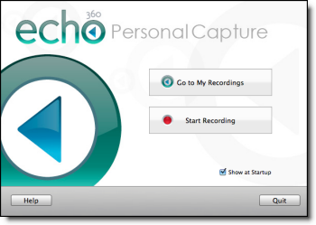 Echo 360 Personal Capture
