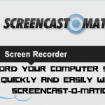 Record your computer and webcam quickly and easily with screencast-o-metic