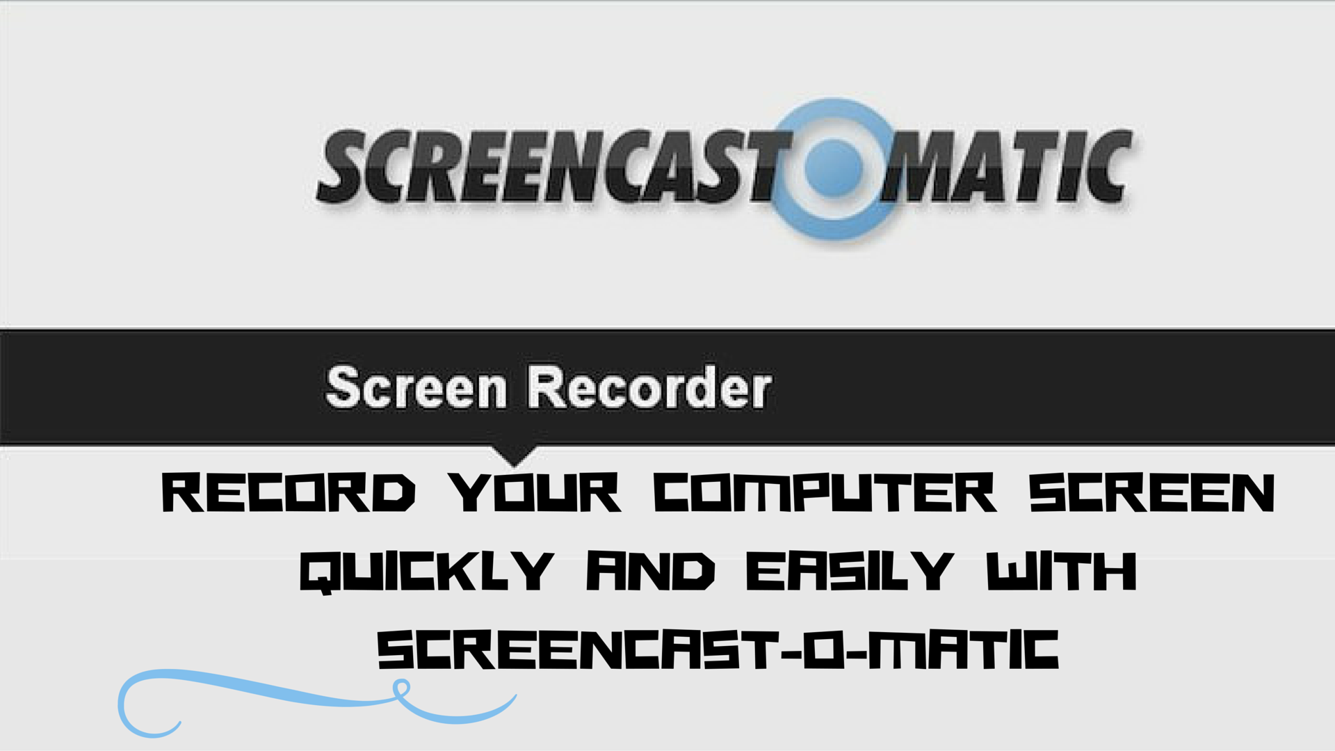 Using Screencast-O-Matic To Record Your Screen