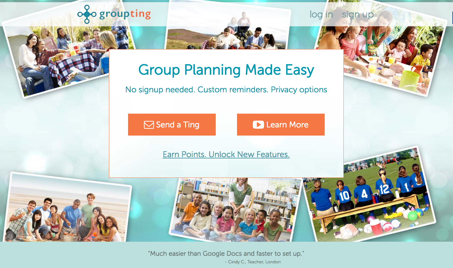 Plan and Manage Events with GroupTing