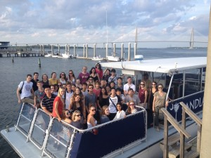 Harbor Cruise- students