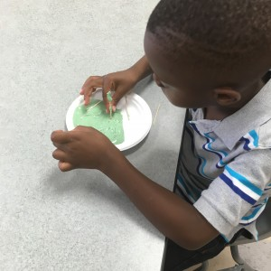 playdough watershed