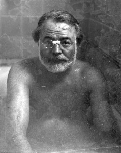http://www.retronaut.com/wp-content/uploads/2013/06/Ernest-Hemingway-in-the-bath.jpg
