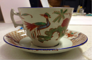 Yuan Teacup and Saucer by Wood & Sons