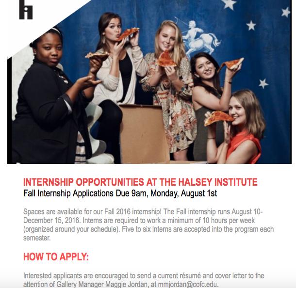 Halsey Internship