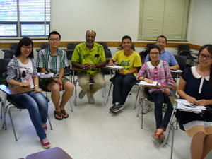 Xiamen Chinese students with Prof. Powers 2013