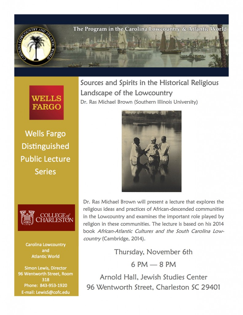 Brown Wells Fargo Lecture flyer final2