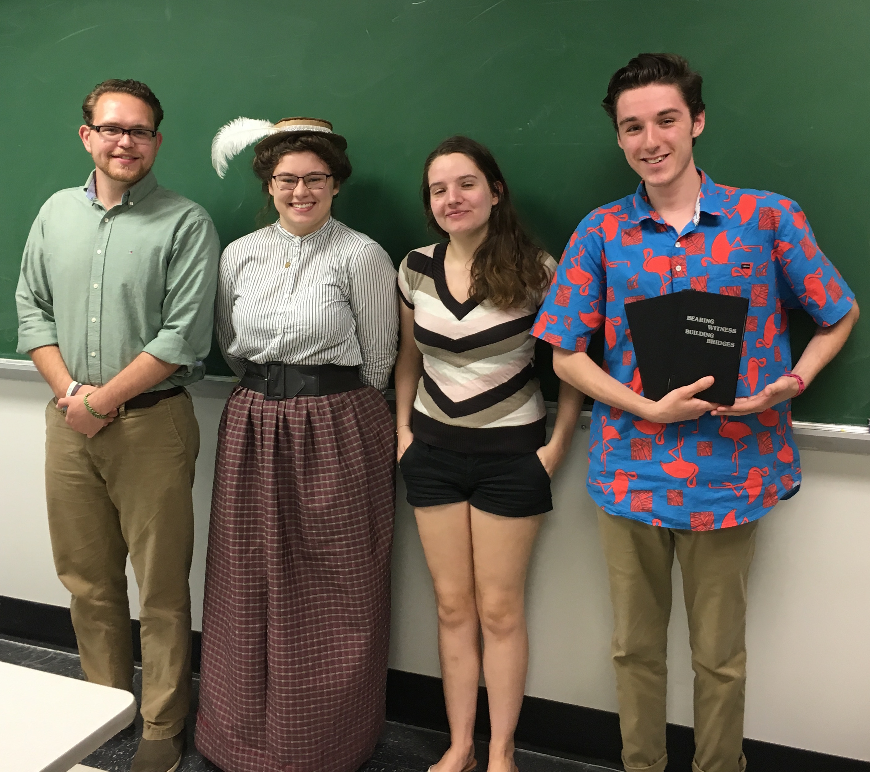 Department Of History Dr Lisa Covert Blogs About Capstone Students