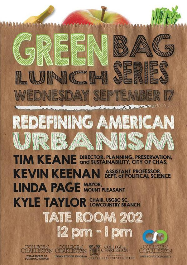 Greenbag Lunch Series