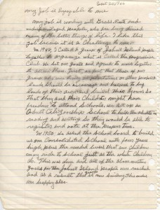Esau Jenkins essay, page 2