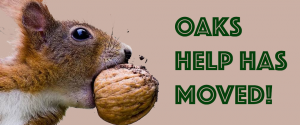 OAKS HELP HAS MOVED