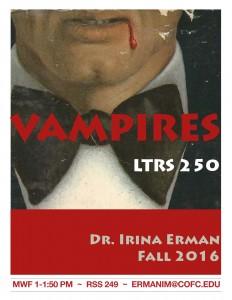 Vampires class poster 2016