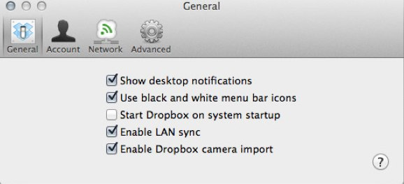 Dropbox looking to add auto import from your camera.
