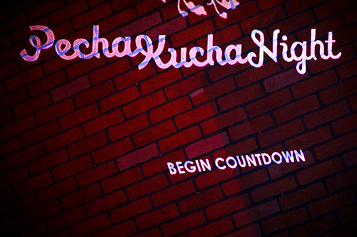 Pecha Kucha Night by Chrys Rynearson