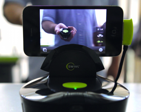 Swivl – Turn your iPhone or iPod Touch into your own personal cameraman