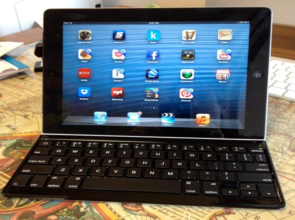 Using an iPad Keyboard for Math LaTex
