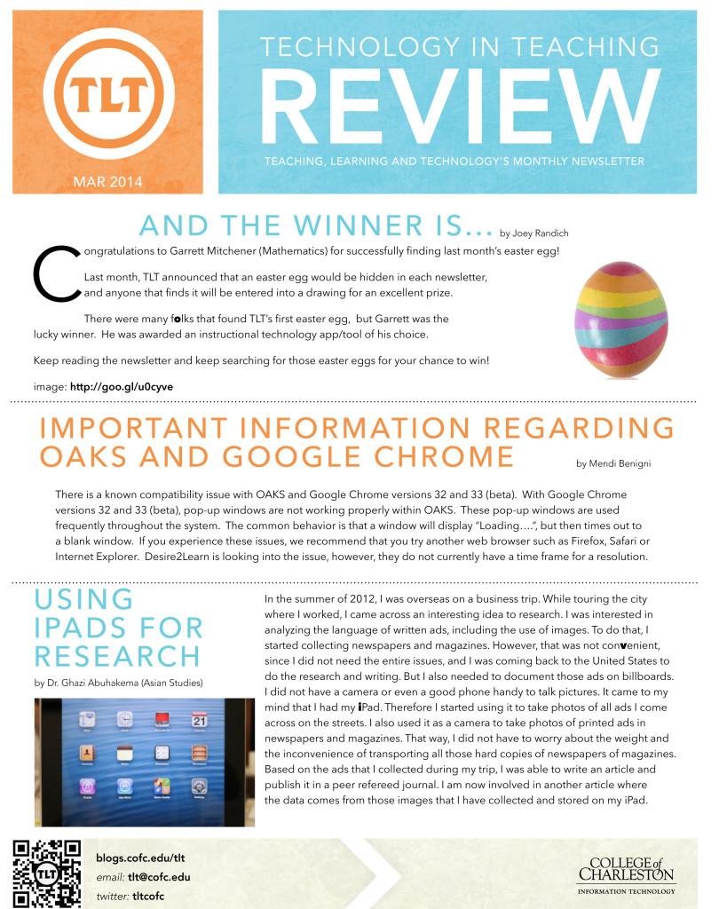 TLTNewsletterMar2014-1