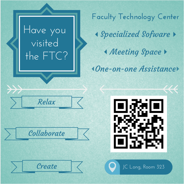 have you visited the FTC? Relax, Collaborate, Create
